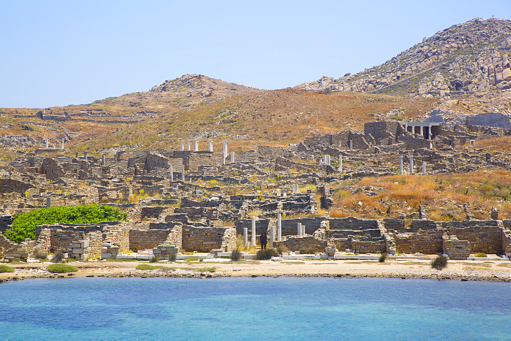 Delos Island, UNESCO World Heritage Site, Cyclades Group, Greek Islands, Greece, Europe