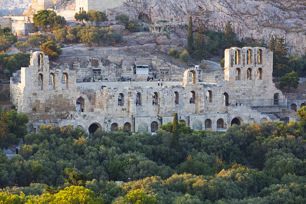 Herodes Atticus Theatre, Acropolis, UNESCO World Heritage Site, Athens, Greece, Europe