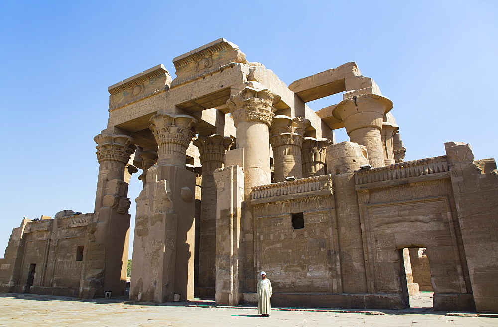 Temple of Sobek and Haroeris, Kom Ombo, Egypt, North Africa, Africa