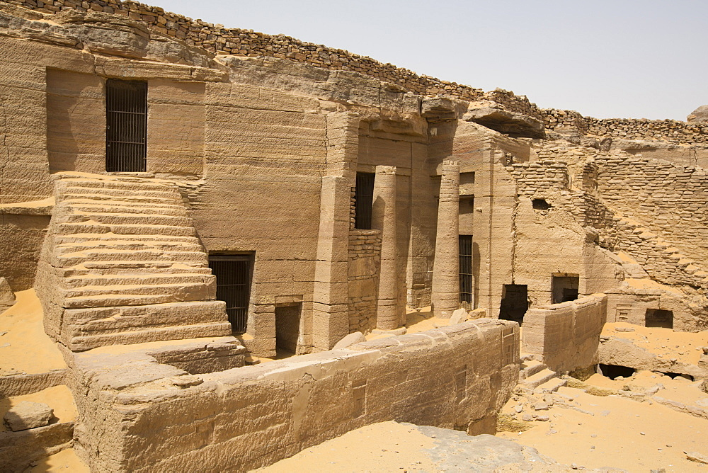 Tombs of the Nobles, Aswan, Egypt, North Africa, Africa