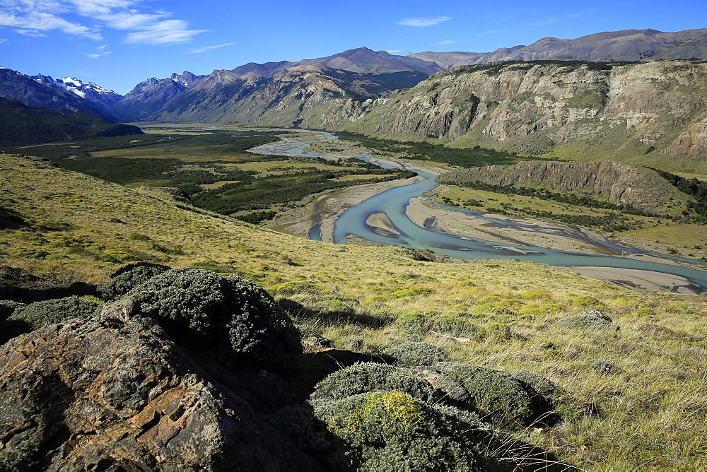 Landscape near El Chalten, Argentine Patagonia, Argentina, South America