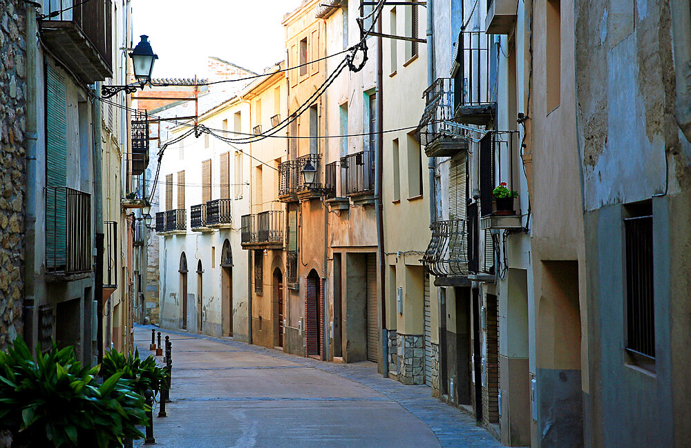 Old town of Cornudella de Montsant, Catalonia, Spain, Europe