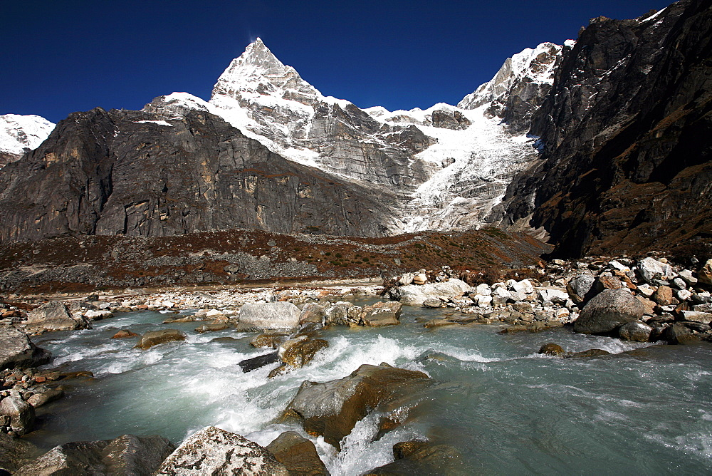 Kyashar, Solukhumbu, Nepal, Himalayas, Asia - 802-429