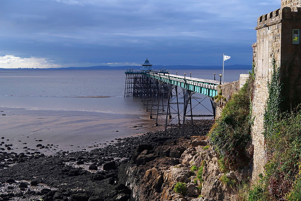 Clevedon Pier, Somerset, England, United Kingdom, Europe - 802-518