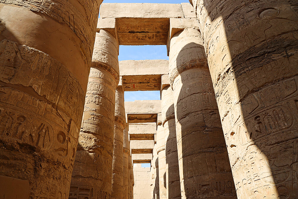 Great Hypostyle Hall, Karnak Temple, Luxor