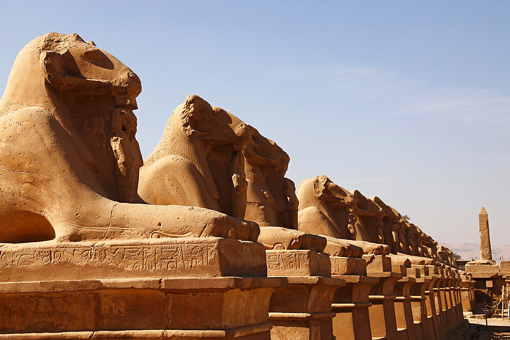 Avenue of Sphinxes, Karnak Temple, Luxor