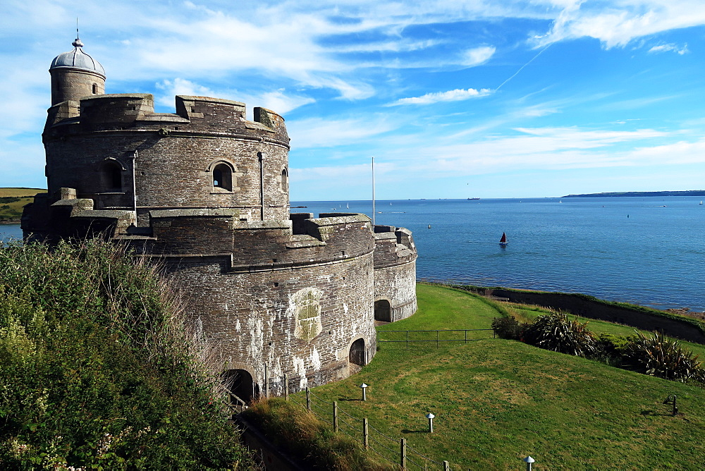 St Mawes castle, St Mawes, Cornwall - 802-585