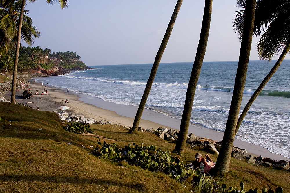 Kovalam  beach, Trivandrum, Kerala, India, Asia - 804-287