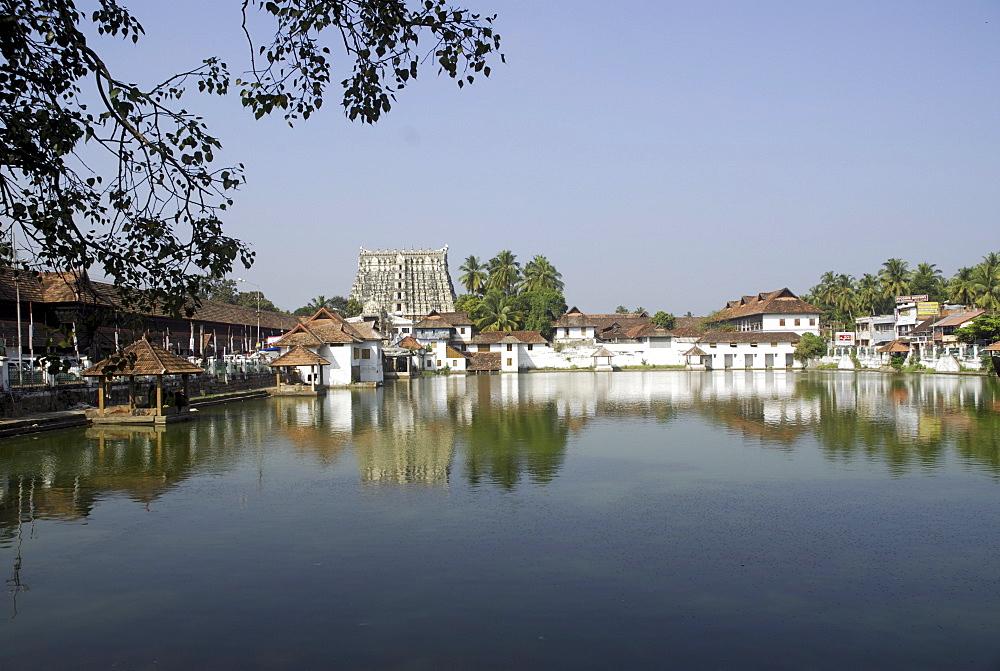 Sree Padmanabhaswamy Temple, Thiruvananthapuram, Kerala, India, Asia