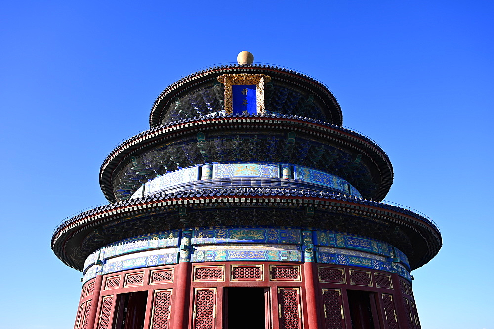 The Hall of Prayer for Good Harvests, in the Temple of Heaven complex, UNESCO World Heritage Site, Beijing, China, Asia