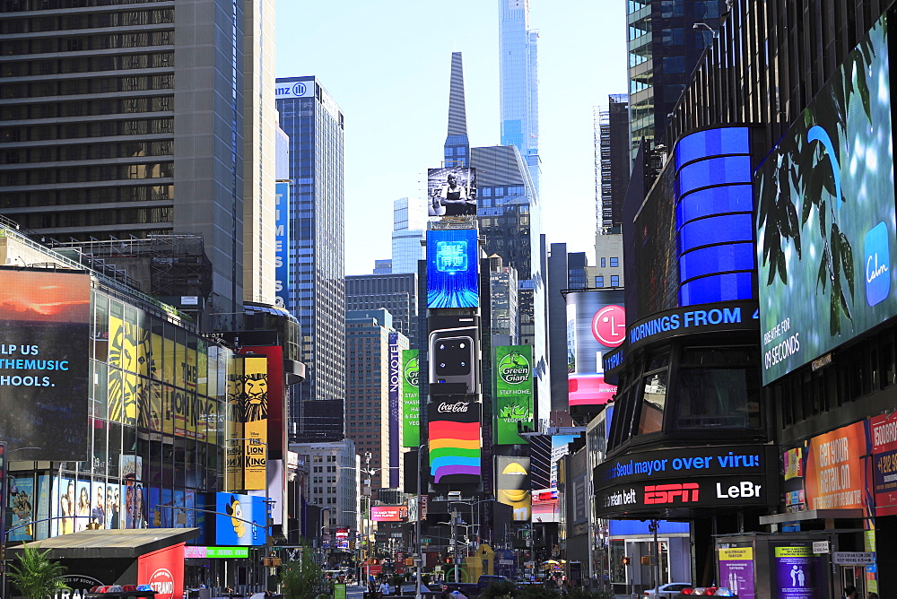 Times Square, Manhattan, New York City, New York, United States of America, North America - 807-2033