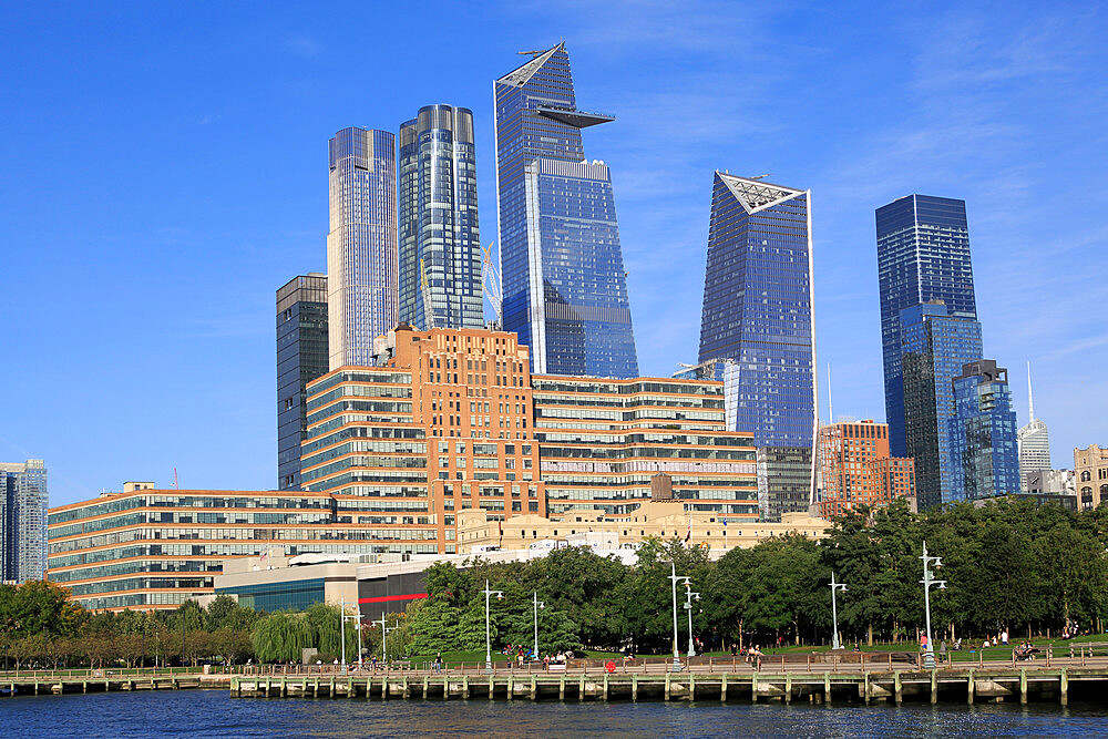 Hudson Yards, Starrett-Lehigh Building, Hudson River Park, Manhattan, New York City, New York, USA - 807-2049