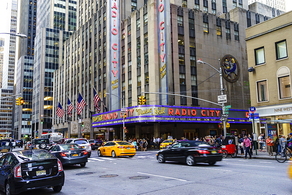 Radio City Music Hall, Rockefeller Center, Theatre District, Midtown, Manhattan, New York City, New York, United States of America, North America