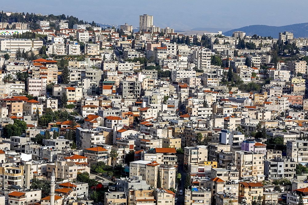 Nazareth city, Galilee, israel.