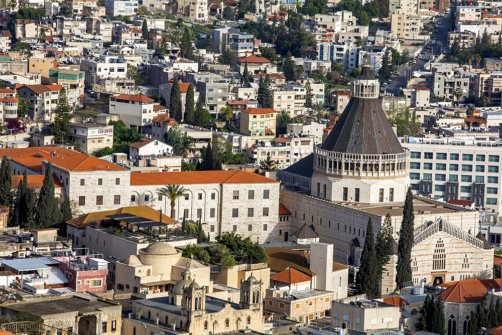 Nazareth city, Galilee, Israel, Middle East - 809-7615