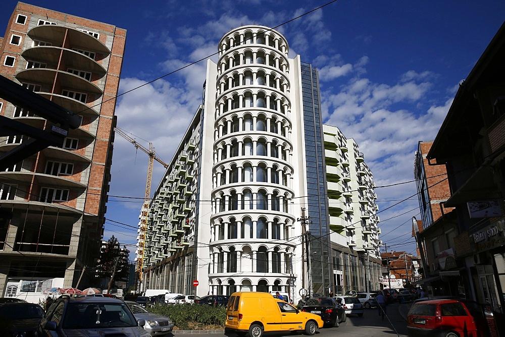 New buildings in Prizren, Kosovo, Europe - 809-7882