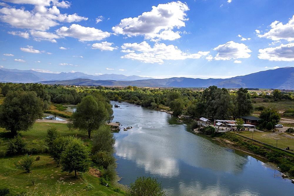 Drini river near Gjakove, Kosovo, Europe - 809-7884