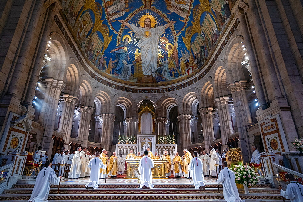 Jubilee of the Sacred Heart Basilica, Paris, France, Europe