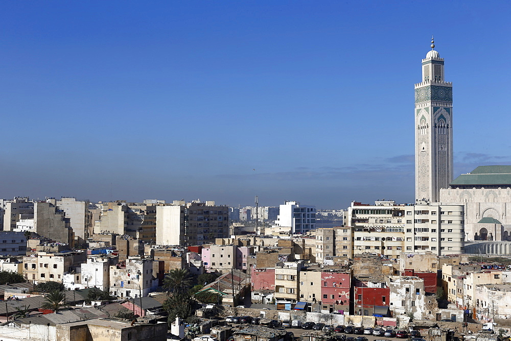 View of Casablanca, Morocco, North Africa, Africa