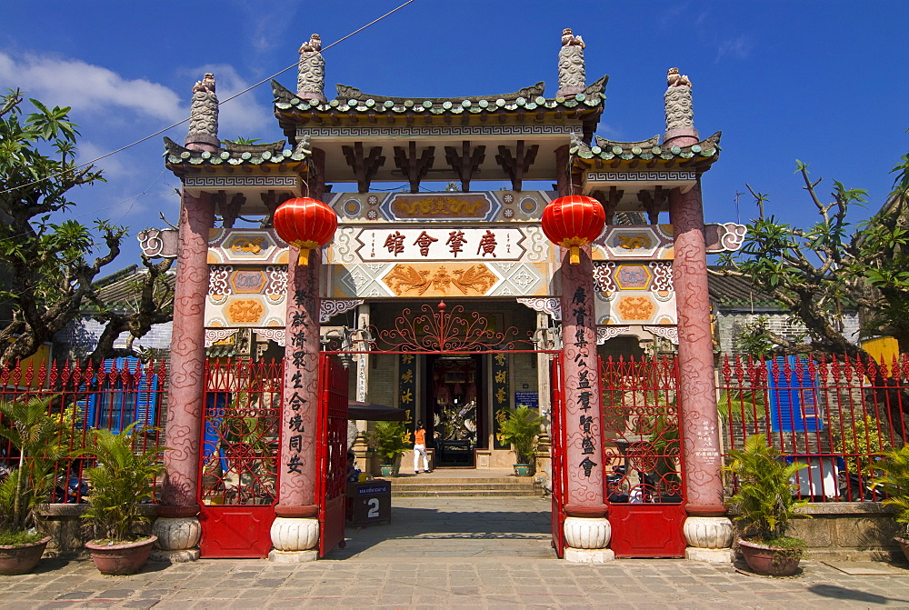Assembly Hall of the Chaozhou Chinese Congregation, Hoi An, Vietnam, Indochina, Southeast Asia, Asia