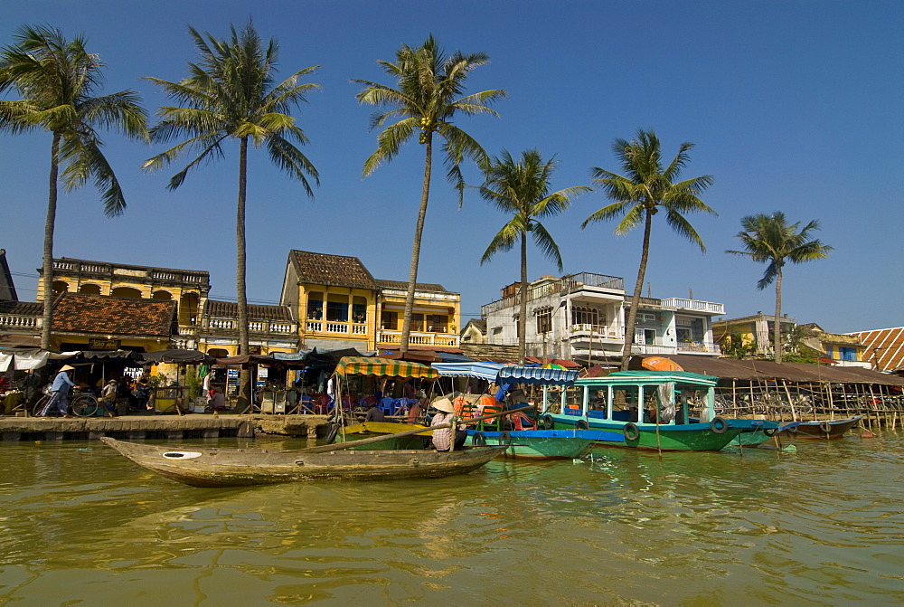 View of Hoi An, UNESCO World Heritage Site, Vietnam, Indochina, Southeast Asia, Asia