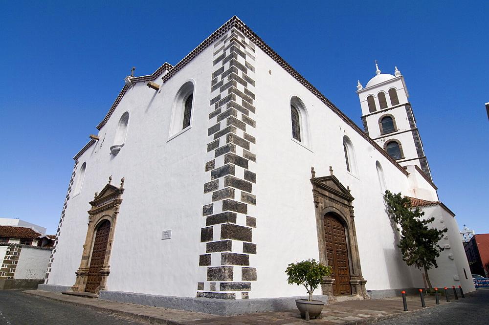Iglesia de Santa Ana, Garachico, Canary Islands, Spain, Europe