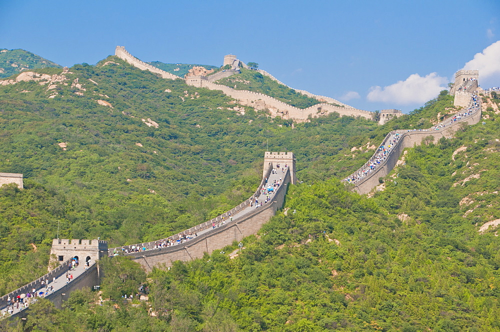 The Great Wall of China, UNESCO World Heritage Site, Badaling, near Beijing, China, Asia