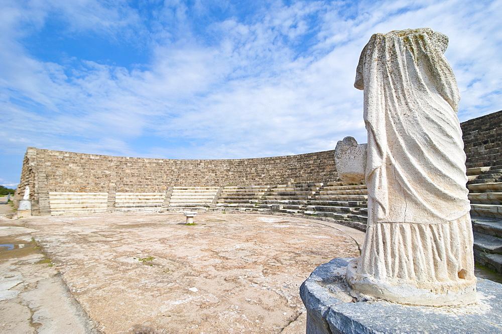 Roman ruins of Salamis, Turkish part of Cyprus, Cyprus, Europe