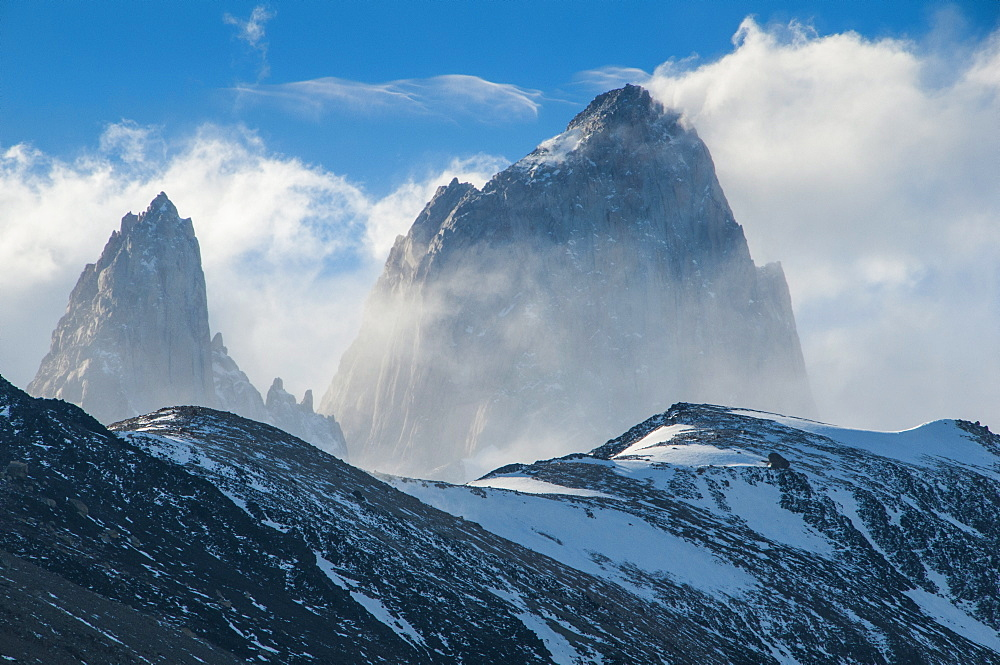 Mount Fitzroy, El Chalten, Los Glaciares National Park, UNESCO World Heritage Site, Patagonia, Argentina, South America