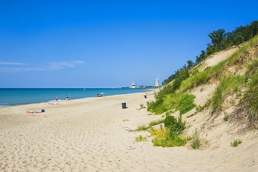 Indiana sand dunes, Indiana, United States of America, North America