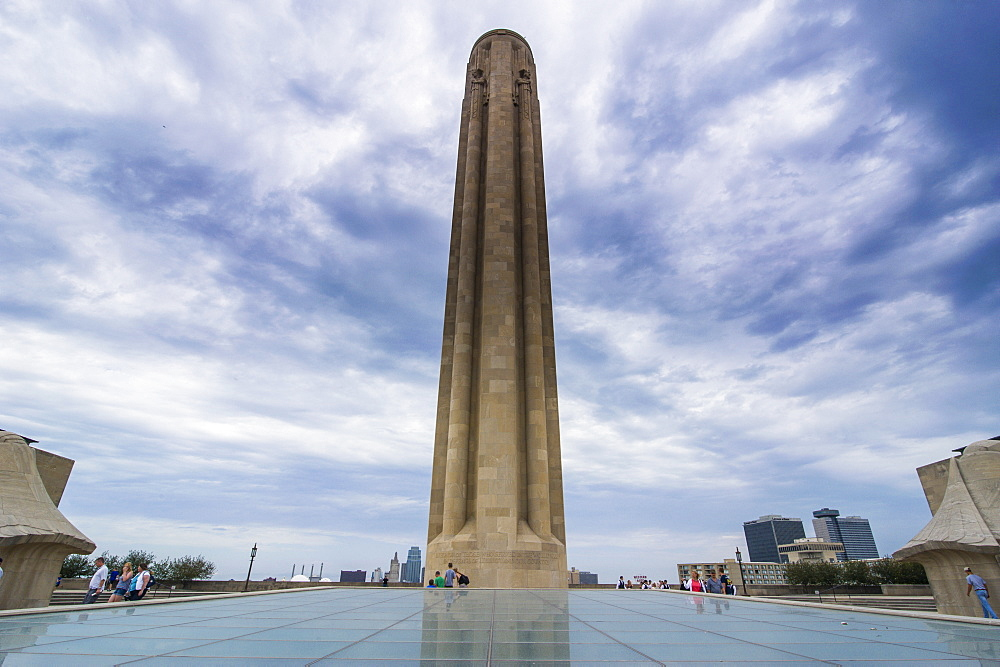 Liberty Memorial in Kansas City, Missouri, United States of America, North America