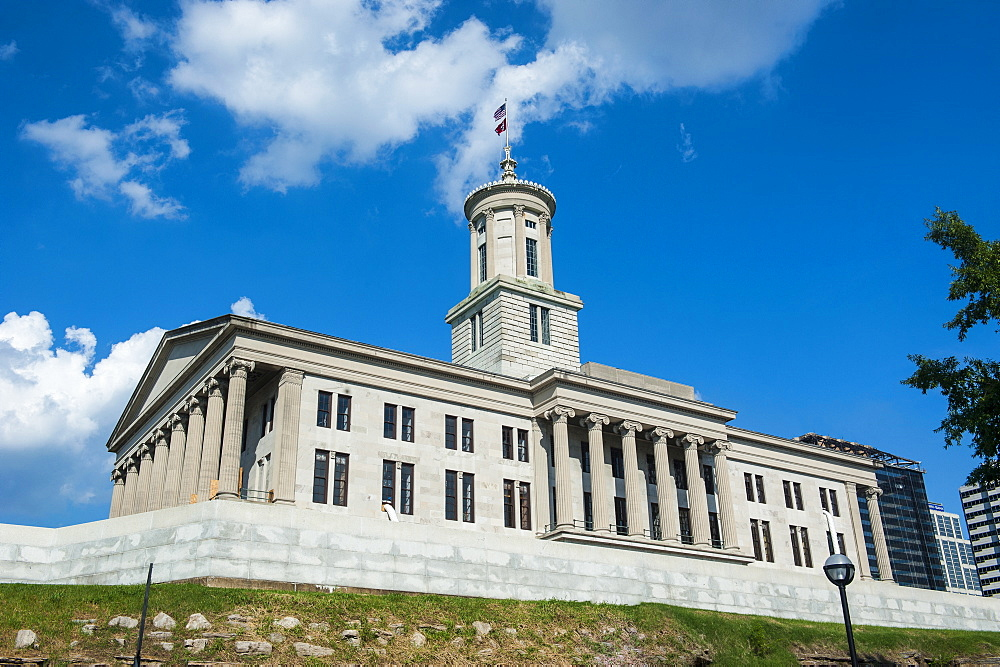 The State Capitol in Nashville, Tennessee, United States of America, North America