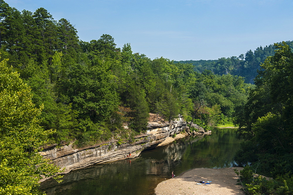 Little Missouri River, Ozark National Forest, Arkansas, United States of America, North America