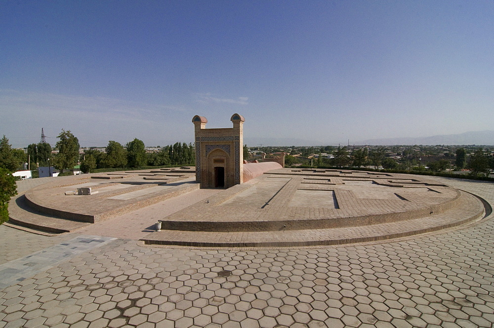 Ulugh Beg's Observatory, UNESCO World Heritage Site, Samarkand, Uzbekistan, Central Asia