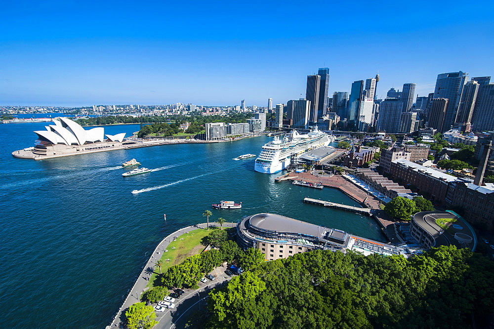 View over Sydney, New South Wales, Australia, Pacific
