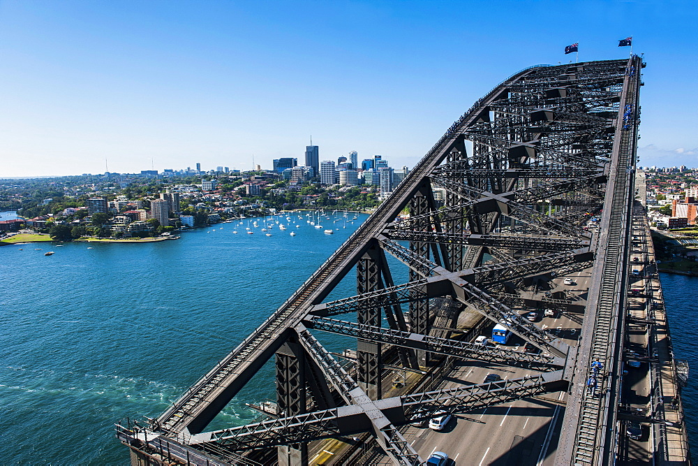 Sydney Harbour Bridge, Sydney, New South Wales, Australia, Pacific