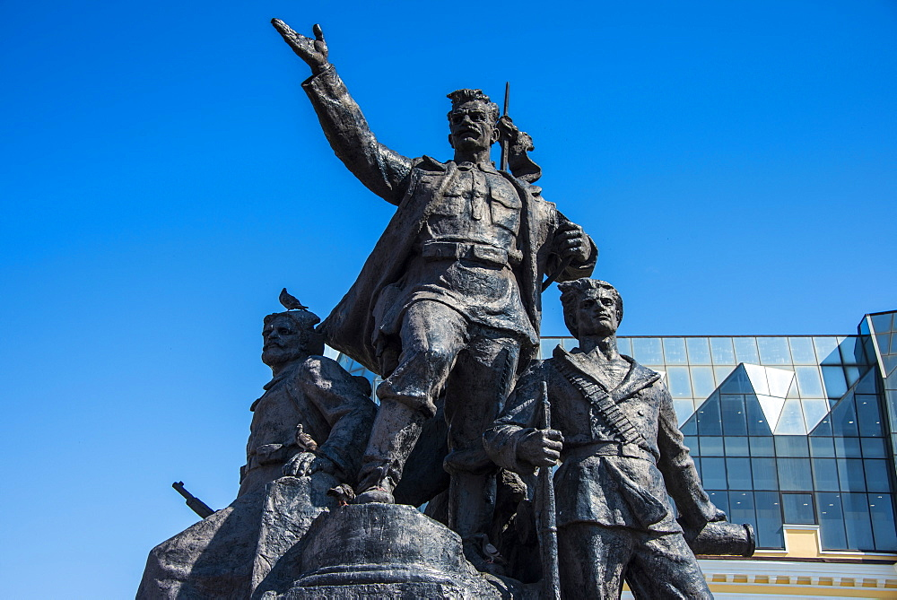 Monument to the Fighters for Soviet Power, Vladivostok, Russia, Eurasia