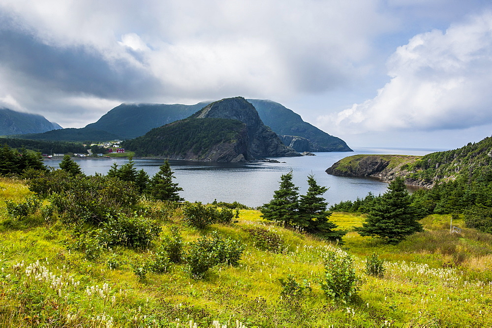 Bottle Cove near Corner Brook, Newfoundland, Canada, North America
