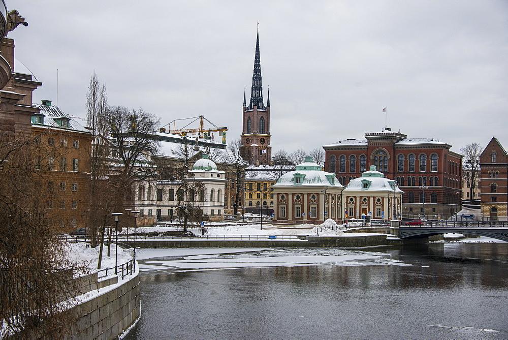 the old quarter of Gamla Stan in Stockholm, Sweden