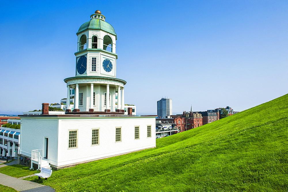 Halifax Town Clock, Halifax, Nova Scotia, Canada, North America