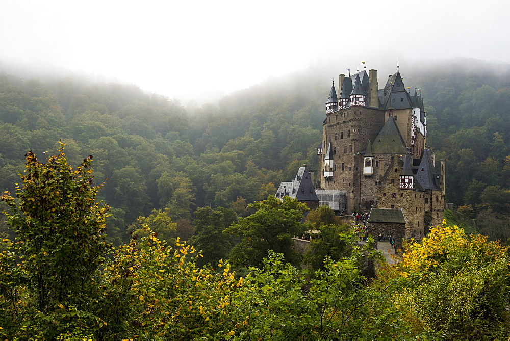 Fairytale castle Eltz near the Moselle Valley, Rhineland-Palatinate, Germany, Europe
