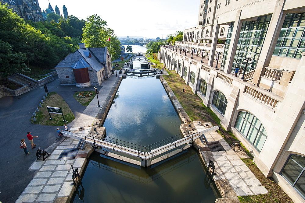 Rideau Canal, Ottawa, Ontario, Canada, North America