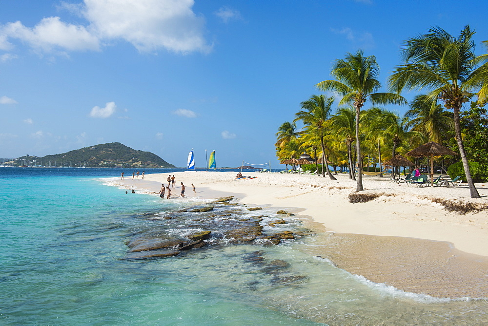 Palm Island, The Grenadines, St. Vincent and the Grenadines, Windward Islands, West Indies, Caribbean, Central America