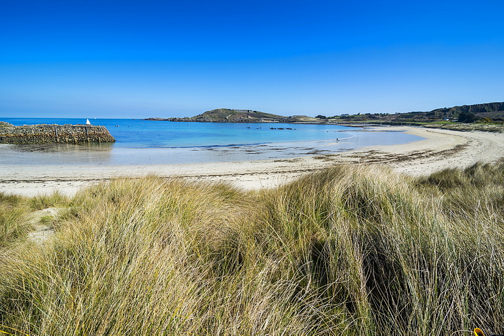 Braye Bay, Alderney, Channel Islands, United Kingdom, Europe