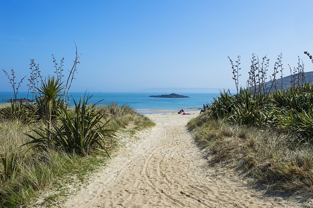 Shell Beach, Herm, Channel Islands, United Kingdom, Europe