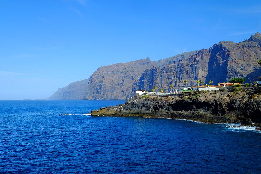Acantilados de los Gigantes, Tenerife, Canary Islands, Spain, Europe