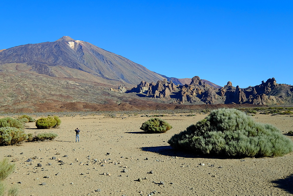 Teide volcano, Teide National Park, Tenerife, Canary Islands, Spain, Europe