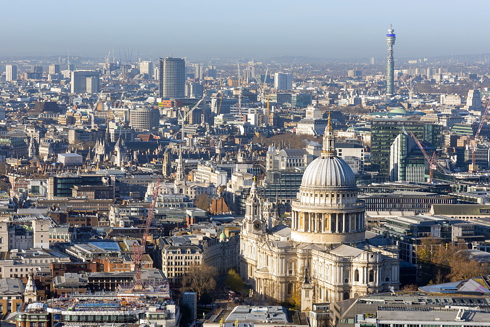 UK, England, London, City of London, St. Paul's Cathedral