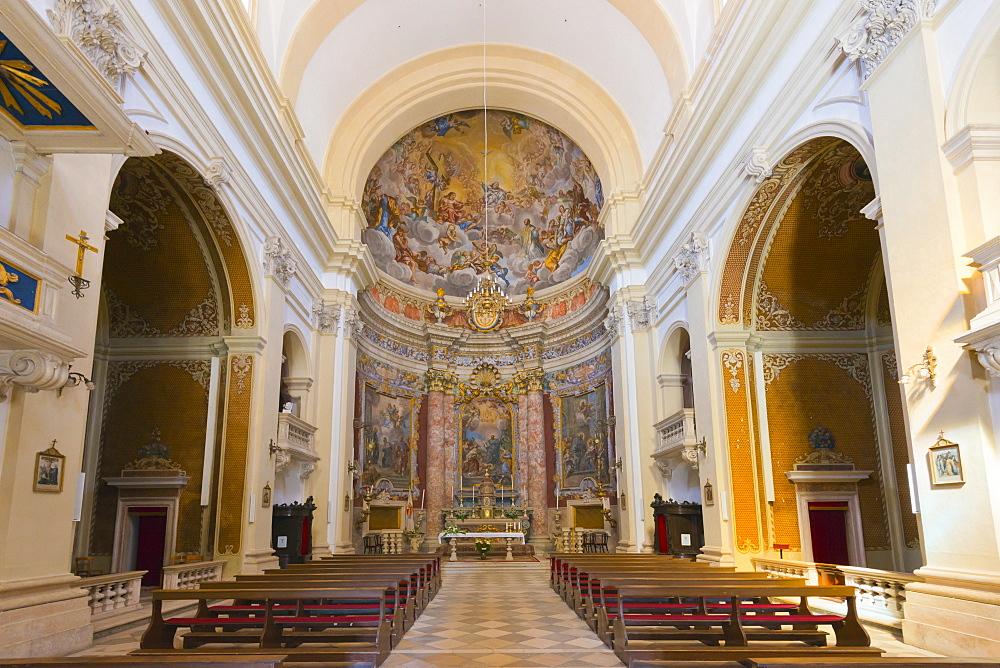 Jesuit Church of St. Ignatius of Loyola, Old Town (Stari Grad), Dubrovnik, Dalmatia, Croatia, Europe