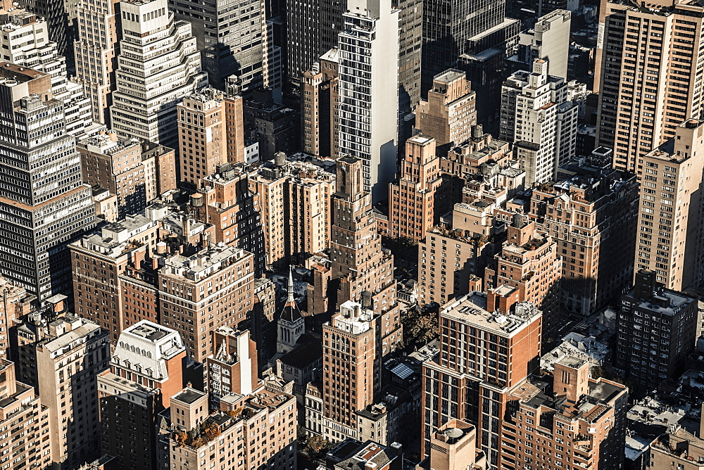 Rooftops, Midtown, Manhattan, New York, United States of America, North America